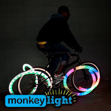 Monkeylectric Monkey Light M210 Amazon Com Monkey Light M210 80 Lumen Bike Wheel Light