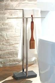 standing towel rack oil rubbed bronze. Floor Standing Towel Rack Oil Rubbed Bronze Free Brushed Nickel Valet C