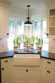 over the sink lighting. Over The Sink Lighting Would Love To Recreate This For My Own Corner  Window Area .
