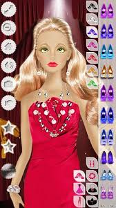 barbie makeup hairstyle dress 1 10 game for android