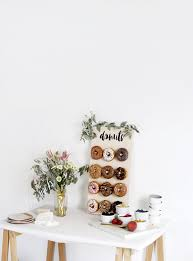 diy donut wall themerrythought