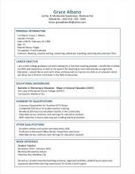 Examples Of Resumes Job Resume Purpose Education Section On Sample