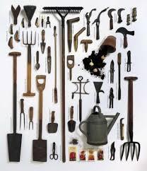 garden tool storage garden tools