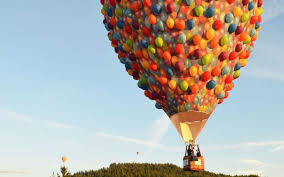 Up House Balloons The Balloon House From Disneys Up Is Flying Over Australia
