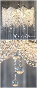 ... Do It Yourself Chandelier Ideas The New Look Of Crystal Chandeliers  Modernized Glamour Could Be A