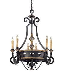 metropolitan n6106 20 montparnasse 6 light 30 inch french black gold leaf chandelier ceiling