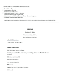 How Prepare A Resume How Prepare A Resume Preparation For Campus ...