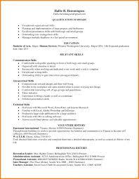 Resume Organizational Skills Examples Best Human Resources