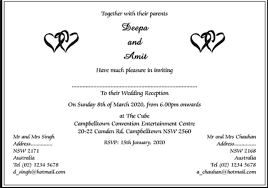 Wedding Inviting Words Indian Wedding Invitation Words Sunshinebizsolutions Com