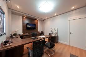 office large size awesome light brown finish laminated wooden monitor desk elegant u shaped work awesome elegant office furniture concept