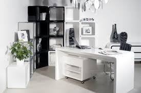 home office technology. Image Of: Home Office White Furniture Contemporary Desk In Automation Technology
