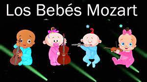 Los Bebés Mozart en el Mundo - Efecto Mozart para bebés - llamarada -  Canciones de Cuna # - YouTube