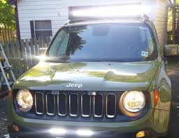 jeep renegade 2015 led lightbar install quiet 42 light bar jeep renegade 2015 led lightbar install quiet 42 light bar