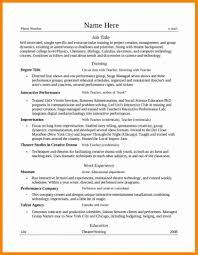 Amazing Worship Leader Resume Contemporary Simple Resume Office