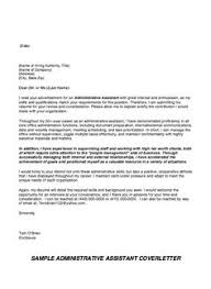 Administrative Assistant Cover Letter | Cover Letter Examples ...