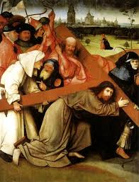 christ carrying the cross hieronymus bosch