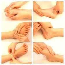 Foot Massage Pressure Point Chart Reflexology Chart Top Of