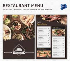 Best Solutions Of Restaurant Menu Template For Mac Pages With