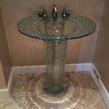 picture of elliptic pedestal sink