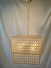capiz shell modern chandelier by wanted lighting capiz shell modern chandelier by wanted lighting image 2
