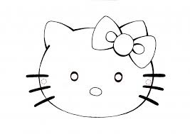 Immagini Hello Kitty Da Colorare Per Bambini Disegno
