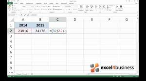 How To Calculate Percent Change In Excel
