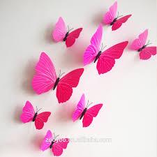 3d Butterfly Wall Decor Zooyoo 3d Butterfly Wall Sticker Art Design Decal Home Decor Room