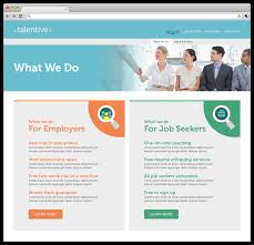 talentive branding website evi designs specific qualities rather than experience education or compensation addressing what both job seekers and employers are looking for on a higher level