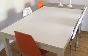 Ikea Bjursta Nils Table And 1 Stool Brown Black Blekinge White For