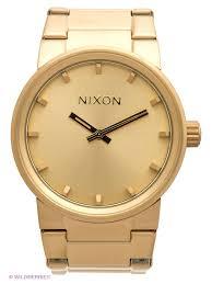 NIXON <b>Наручные часы</b> Cannon All <b>Gold</b> (A160) NIXON 1701957 в ...