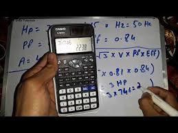 3 Phase Motor Amps Calculation Current Formula Urdu