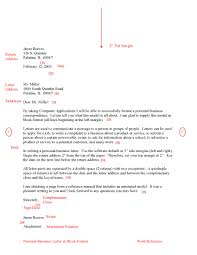 Business Letter Format With Thru Huanyii Com
