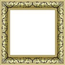 black and gold frame png. Fine Png Gold Photo Frame PNG With Black Ornaments Inside And Png A
