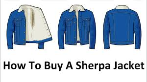 How To Buy A Sherpa Jacket Mens Denim Cotton Sherpa Jackets Video Guide Lee Jeans