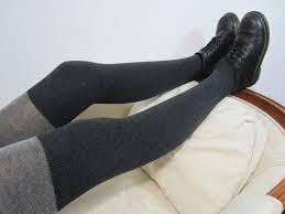 plus size thigh high socks plus size xl wool boot socks leg warmers thigh high socks gray