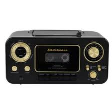 Retro Portable CD Player with Radio and Cassette Cd | Wayfair