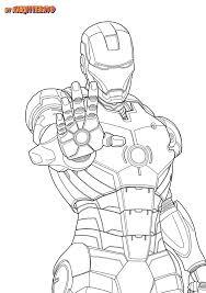 iron man marvel iron man coloring pages kids iron man coloring pages free printable for