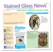 columns on stained glass mosaics and or hot glass by industry experts photos of our readers projects in the readers gallery