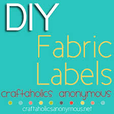Diy Clothing Label Craftaholics Anonymous 13 Tips On How To Make Clothing Labels