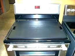glass stove top cover glass stove top protector protective cover home design ideas covers electric