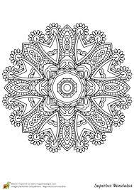 Top Des Coloriages Mandala L