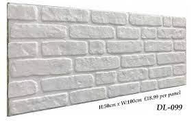 eps polystyrene styrofoam 3d wall