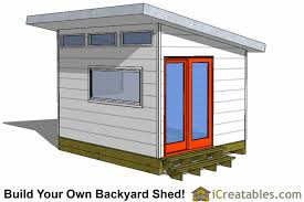Shed office plans Diy 10x12 Home Office Shed Plans Icreatables Modern Shed Plans Modern Diy Office Studio Shed Designs