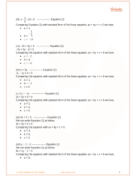 writing linear equations test pdf