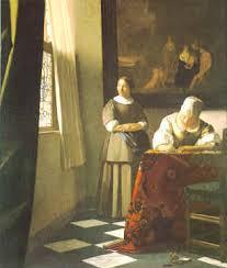 vermeer writingladywithmaid large14