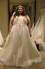 plus size bridal real plus size brides in their dresses please help