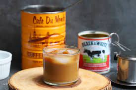 The most famous vietnamese coffee amongst non locals is the one you see in the images here, dark strong coffee, dripping onto an inch high of sweet condensed milk. Vietnamese Coffee Video Recipe Food Pleasure Health