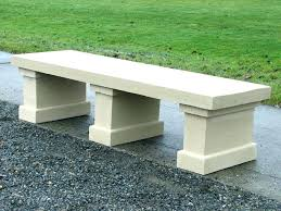 concrete garden bench. Lowes Concrete Benches Garden Bench Large Size Of Stirring Image Inspirations Cement Plastic . U
