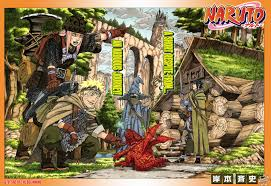 Small Picture Naruto Manga Color Pages businesswebsitestartercom