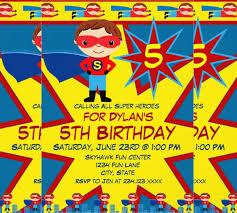 birthday invitations samples 30 superhero birthday invitation templates psd ai free
